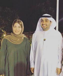 مع الشيخ راشد الشرقي في الفجيرة