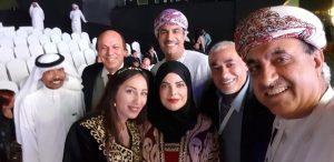 في مهرجان جائزة الشيخ راشد للإبداع عن فئة القصة القصيرة في الفجيرة ٢٠٢٠